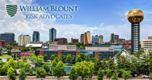 William Blount Risk Advocates - Open Graph - Knoxville Tennesse Skyline On A Bright Day